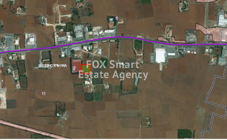 Residential Land 2,295 sq.m in Kokkinotrimithia, Nicosia