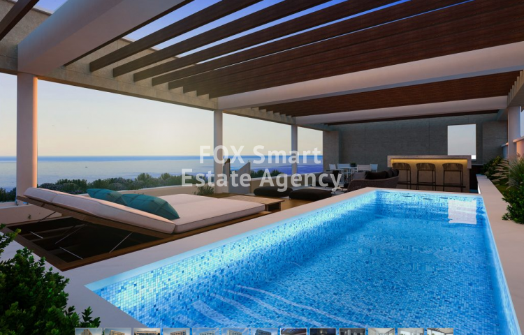 For Sale 3 Bedroom Penthouse Apartment in Potamos germasogeias, Limassol