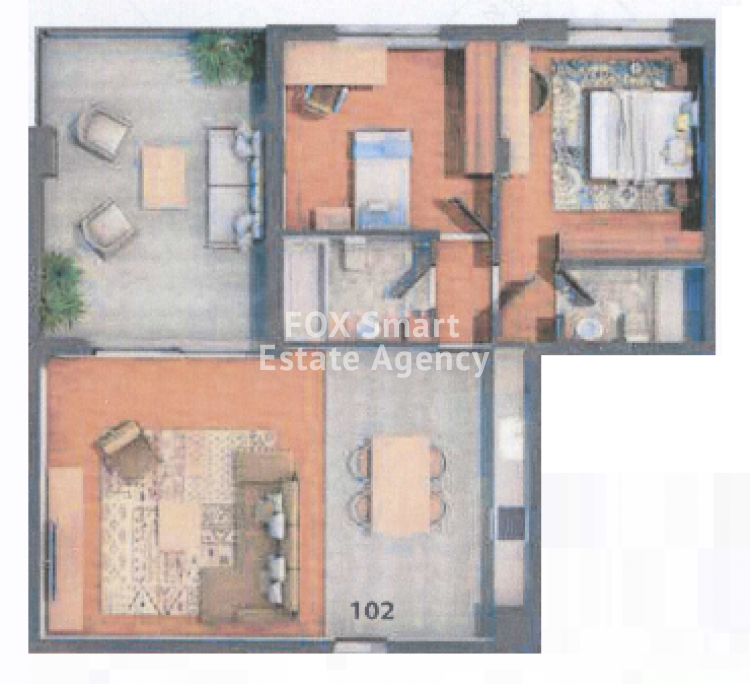 Under Construction 2 Bedroom Apartment in Agios Dometios, Nicosia