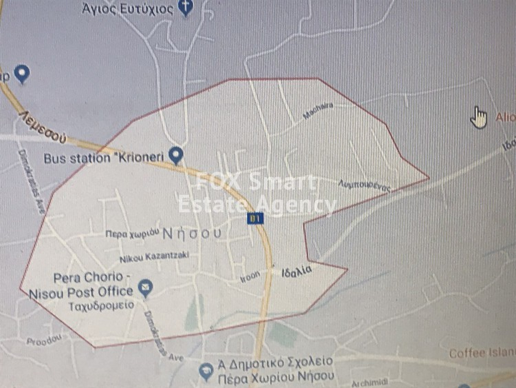 For Sale 3670sq.m Land in Pera Chorio, Nicosia