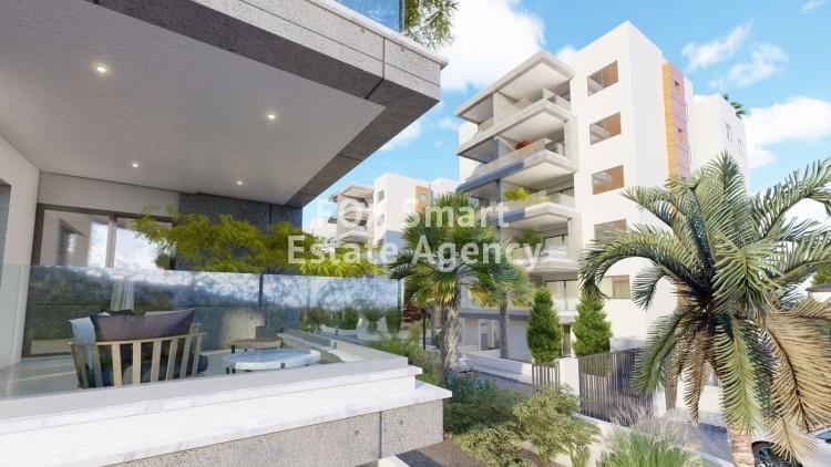 For Sale 2 Bedroom Penthouse Apartment in Zakaki, Limassol