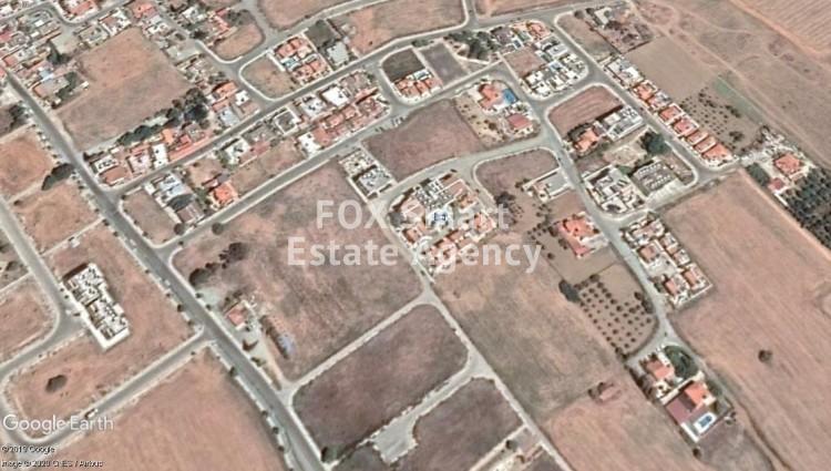 Corner Plot for sale in Pervolia area, Larnaca