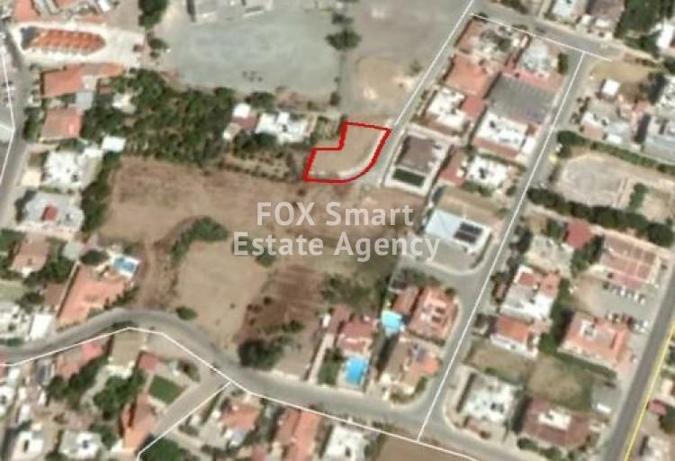 Corner Privileged Residential Plot 574sq.m in Pano Deftera, Nicosia