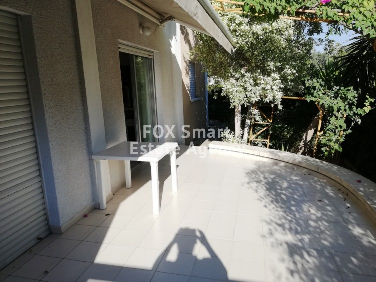 For Sale Ground Floor 3 Bedroom Apartment in Nicosia Centre