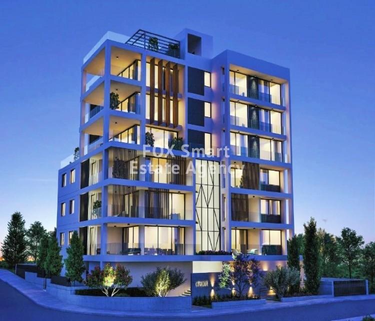 Under Construction 3 Bedroom Luxury Apartments in Agioi Omologites, Nicosia