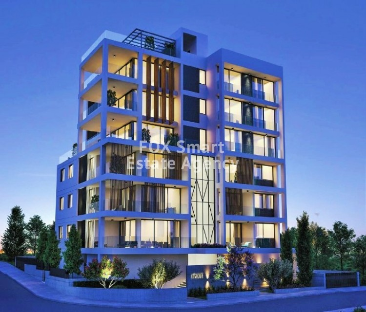 Under Construction 2 Bedroom Luxury Apartments in Agioi Omologites, Nicosia
