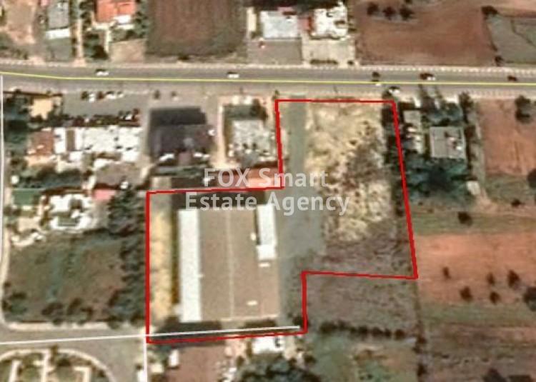 Residential Land 6,054sq.m in Kokkinotrimithia, Nicosia