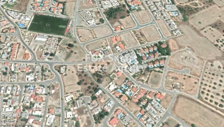 Corner Plot of 600m² for Sale in Oroklini, Larnaca
