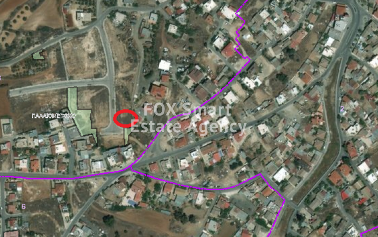 Large Corner Plot 630sq.m in Palaiometocho, Nicosia