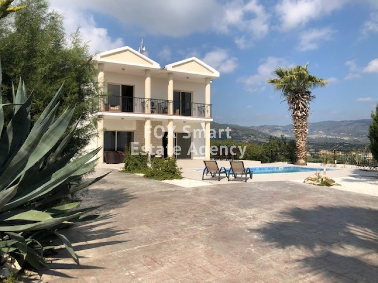 For Sale 4 Bedroom Detached House in Parekklisia, Limassol