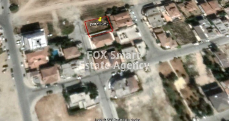 Residential plot in Vergina Larnaca with Plans & Permits.