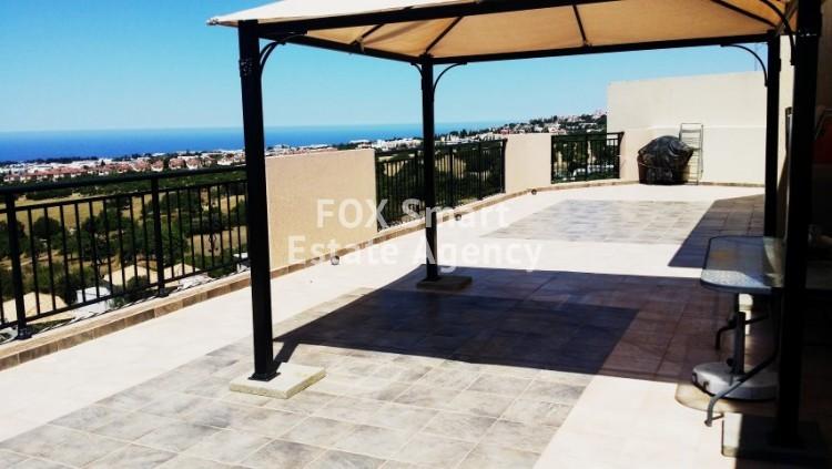 For Sale 3 Bedroom Top floor Apartment in Mesa chorio, Paphos