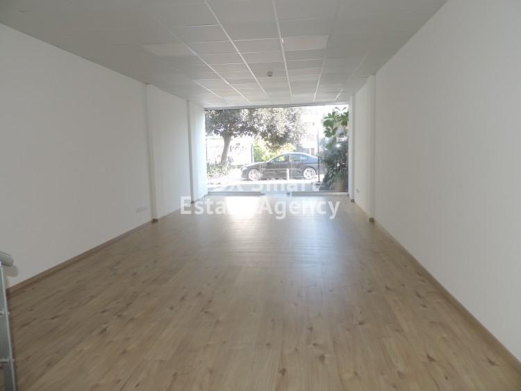 For Rent 90sq.m Shop plus 50sq.m mezzanine in Akropolis, Nicosia