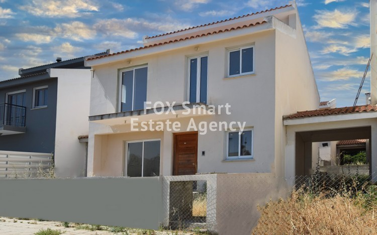 For Sale 4 Bedroom Semi-detached House in Pano Deftera, Nicosia