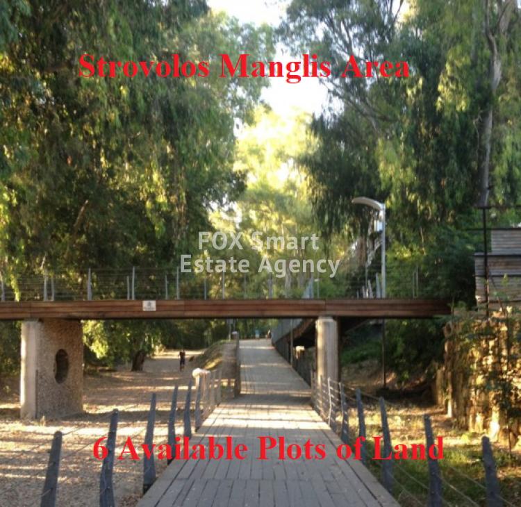 Plot 576sq.m close to park, Logos-Manglis area Strovolos