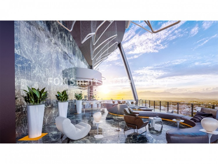 For Rent New Unique futuristic offices building in Nicosia skyline