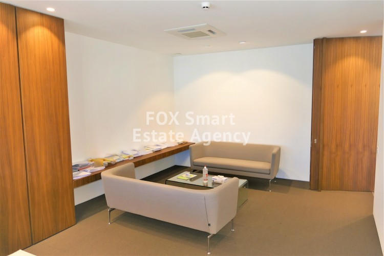 For rent 760sq.m luxury office space in Nicosia Business center