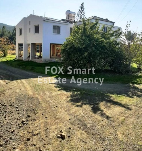 For sale 4 bedroom house in Agia Marina Chrysochous - UNDER OFFER