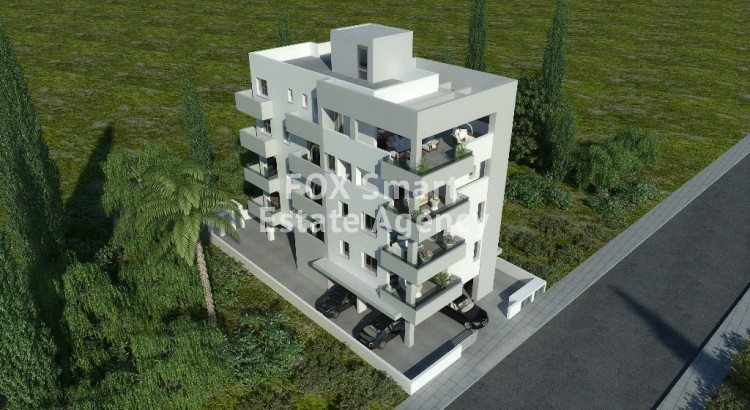 2 Bedroom Penthouse Under Construction Apartment For Sale,  in Drosia area, Larnaca