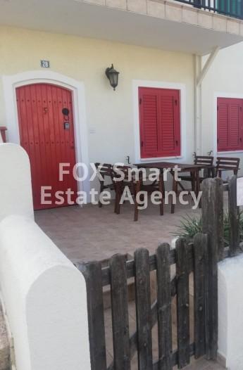For Sale 2 Bedroom Ground floor Apartment in Protaras, Famagusta