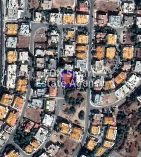 For Sale Corner Plot in Makedonitissa, Nicosia