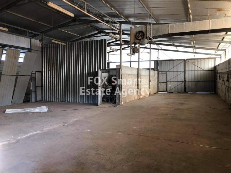 Industrial Warehouses 1700sq.m in Kato koutrafas, Nicosia