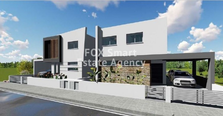 For Sale Under Construction 4 Bedroom House in Lakatameia, Nicosia