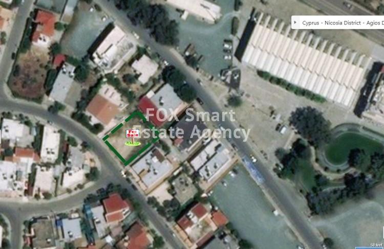 For Sale 539sq.m Plot in Agios Dometios, Nicosia