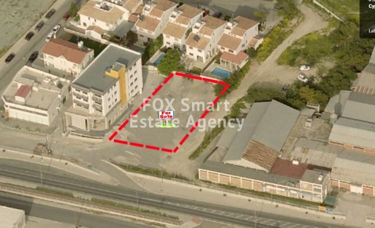 For Sale 593sq.m Commercial Plot in Latsia, Nicosia