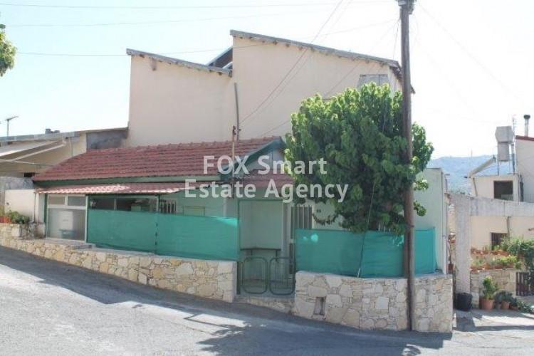For Sale 1 Bedroom Semi-detached House in Trimiklini, Limassol