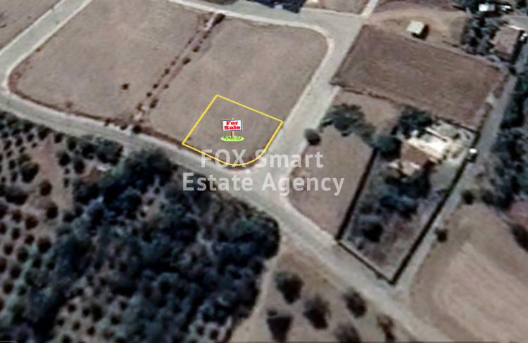 For Sale Corner Plot 572sq.m lot in Dali, Nicosia