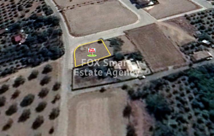 For Sale Large Corner Plot 600sq.m in Dali, Nicosia