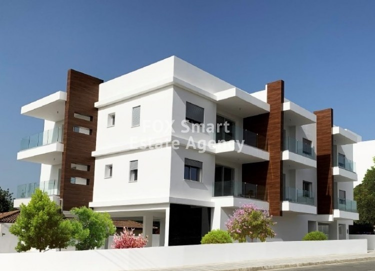 Ready modern luxury 1 bedroom flats very close to University of Nicosia, in Engomi