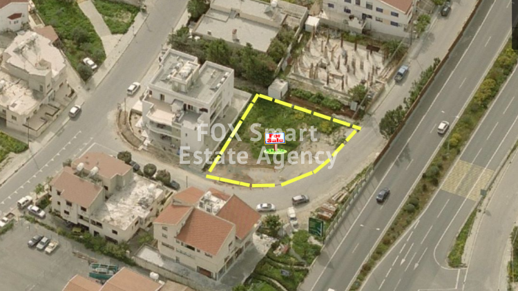 For Sale 535sq.m Corner Plot in Strovolos, Nicosia