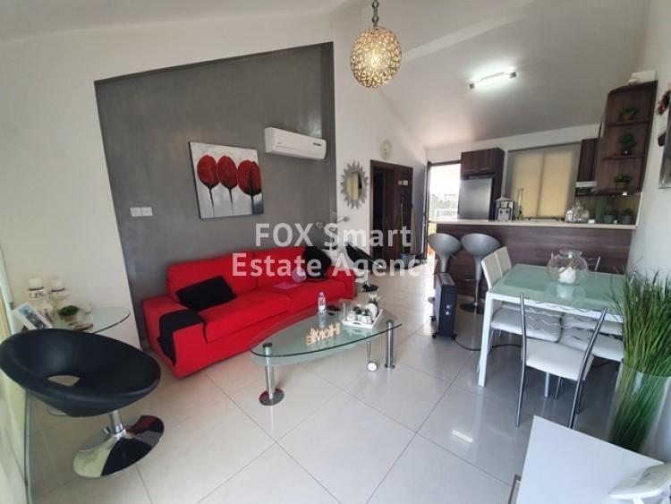 For Sale 1 Bedroom Top floor Apartment in Germasogeia, Limassol