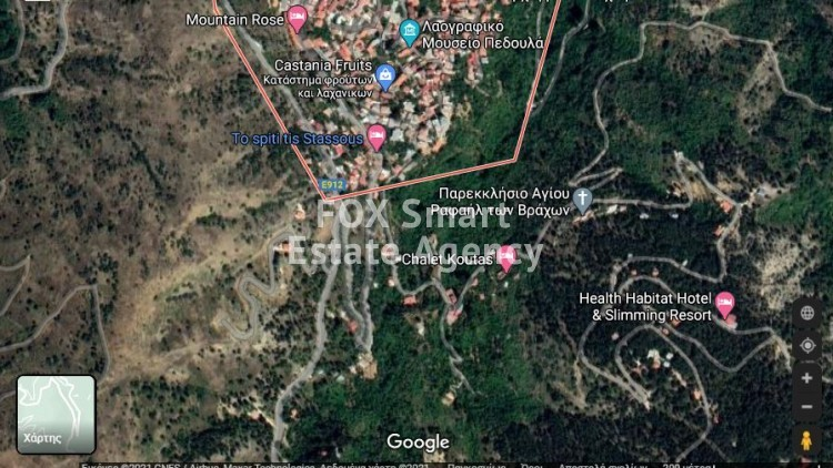 For Sale Residential Land 5,017sq,m in Pedoulas, Nicosia