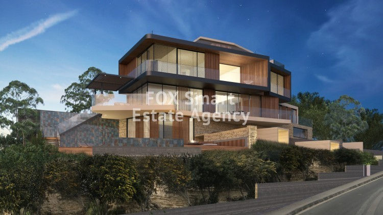 For Sale 5 Bedroom Detached House in Agios tychon - tourist area, Limassol