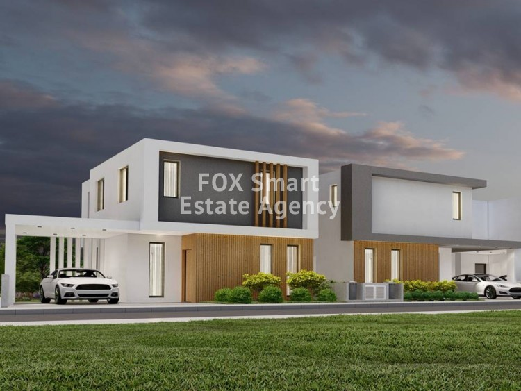For Sale 3 Bedroom Detached House in Dromolaxia, Larnaca