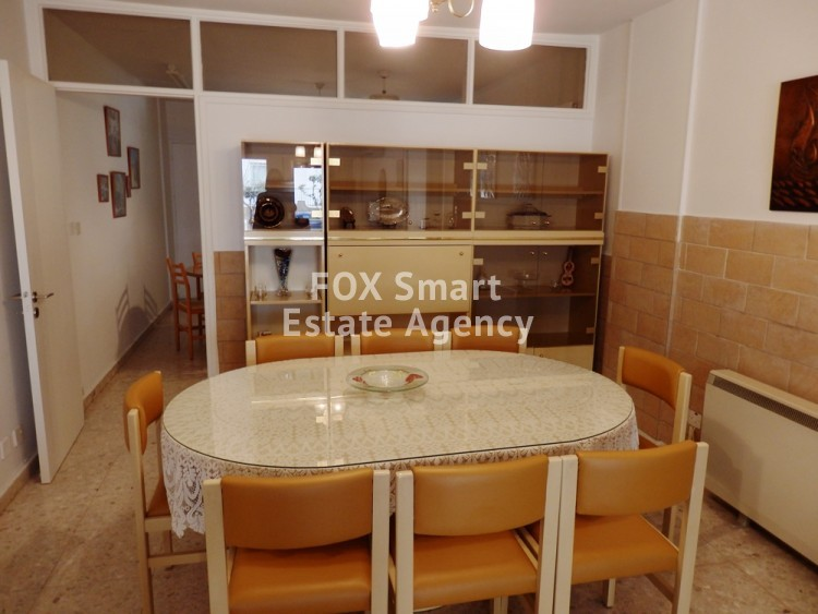 For Rent Furnished 3 Bedroom Ground floor Apartment in Akropolis, Nicosia