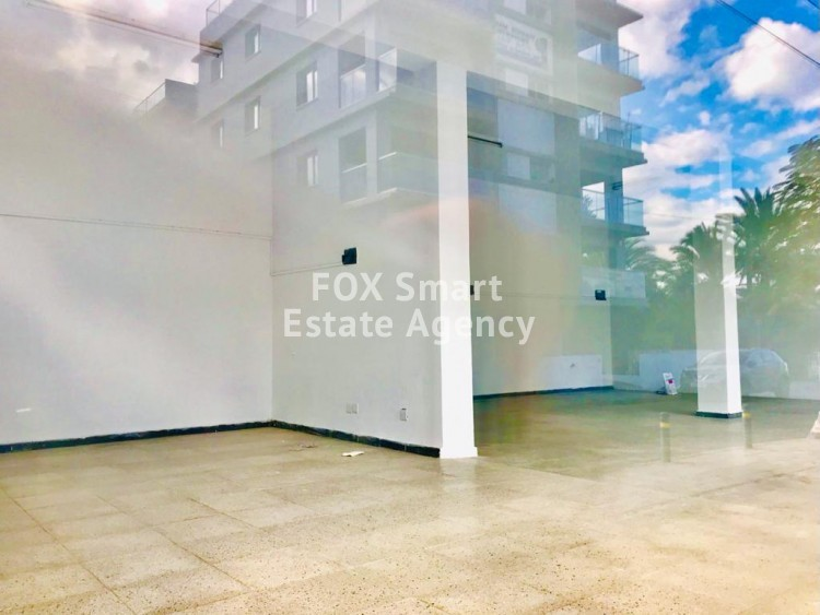 For Rent 100sq.m Ground floor Shop in Akropolis, Nicosia