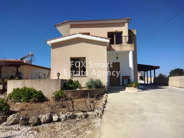 To Rent 3 Bedroom Detached House in Kallepia, Kallepeia, Paphos
