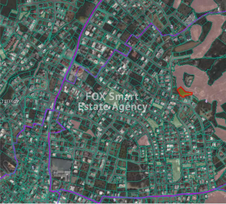 For Sale Residential Land 1654sq.m in Tseri, Nicosia