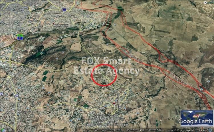 Residential Plot 559sqm (80% density) in Geri, Nicosia