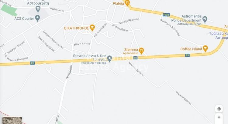 For Sale Residential Land 2,973sq.m in Astromeritis, Nicosia