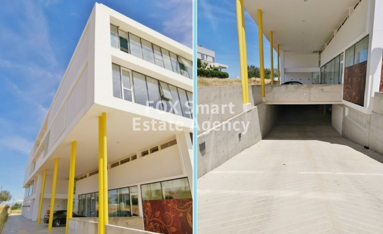 550sq.m. New Whole floor open plan Offices with roof-terrace just outside Nicosia Capital