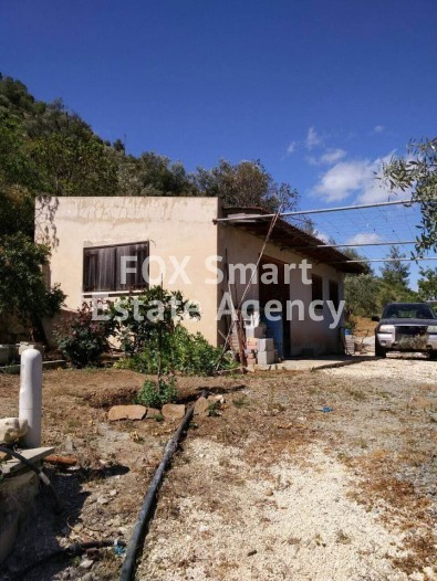 Olive and Fruit Trees Garden 3233sqm with House in Gourri, Nicosia
