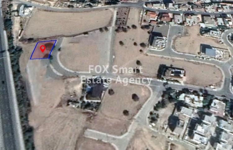 For Sale Large Residential Plot 668sq.m in Pera Chorio, Nicosia
