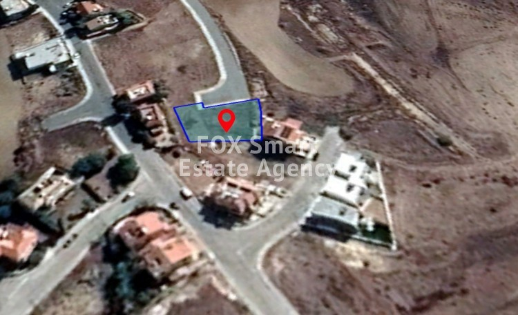 For Sale Residential Plot 690sq.m in Dali, Nicosia