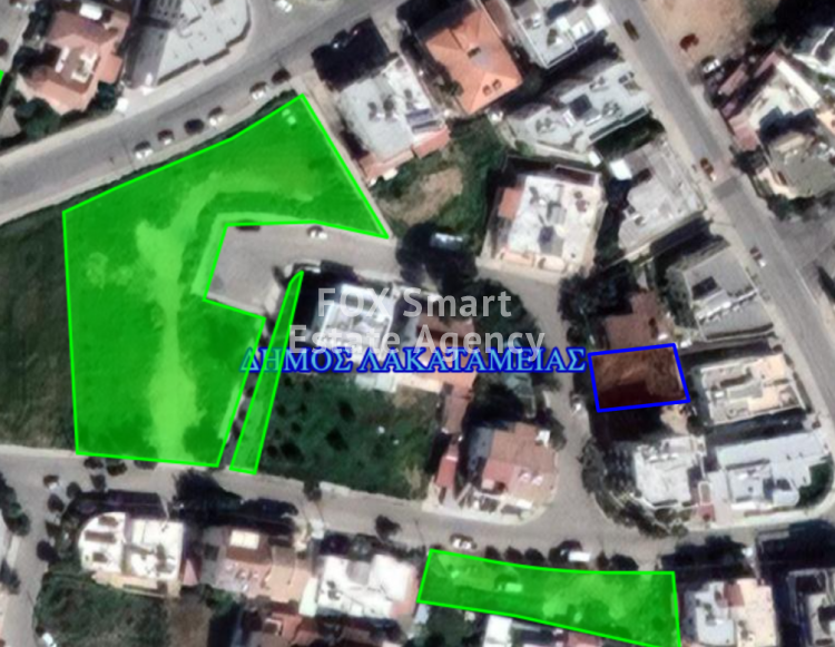 For Sale Residential Half Plot 261sq.m in Lakatameia, Nicosia