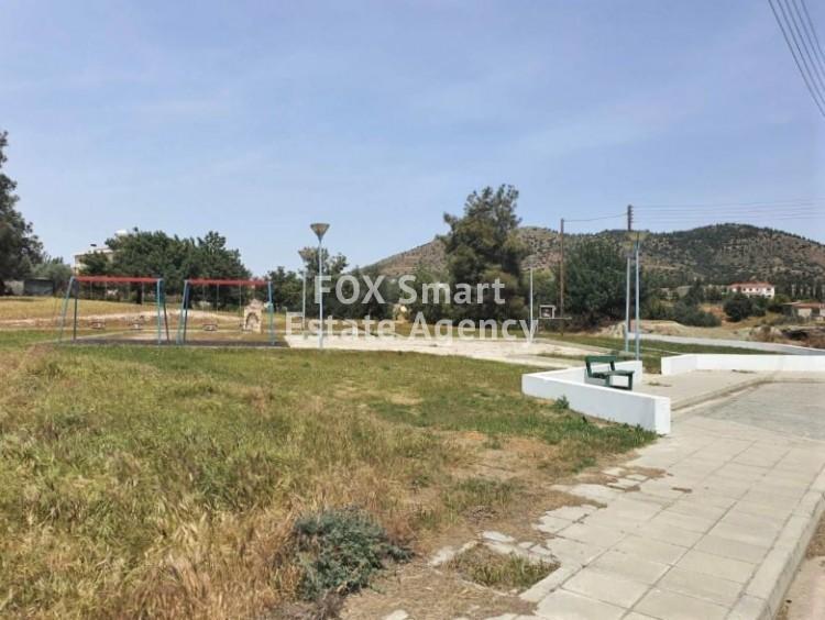 For Sale Large Corner Plot in Pyrga, Larnaca.
